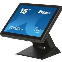 """iiyama 15"""" TN LED, 1024 x 768, 8 ms, 350 cd/m2, 700 : 1, VGA & DVI-D, zwarz"""