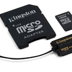 Kingston Micro SD/16GB Multi-Kit/Mobility-Kit