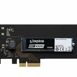 Kingston KC1000 NVMe PCIe SSD 960GB, HHHL