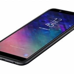 "Samsung Samsung Galaxy A6 SM-A600F 14,2 cm (5.6"") Hybride Dual SIM 4G Zwart 3000 mAh"