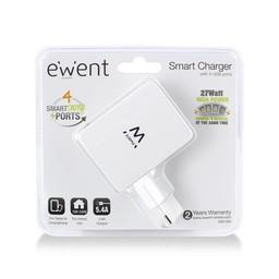 Eminent Ewent EW1304 oplader voor mobiele apparatuur Binnen Wit