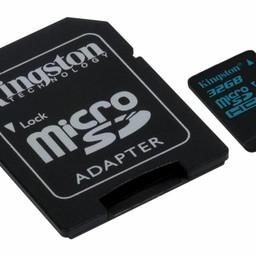 Kingston Kingston Technology Canvas Go! flashgeheugen 32 GB MicroSDHC Klasse 10 UHS-I