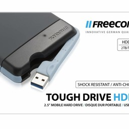 Freecom Freecom Tough Drive externe harde schijf 2000 GB Grijs