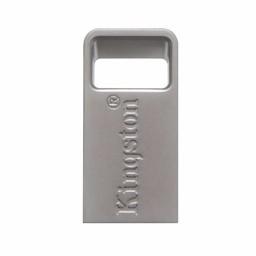 Kingston Kingston Technology DataTraveler Micro 3.1 32GB USB flash drive 3.0 (3.1 Gen 1) USB-Type-A-aansluiting Metallic