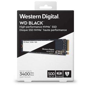 Western Digital Western Digital WDS500G2X0C internal solid state drive M.2 500 GB PCI Express 3.0 NVMe