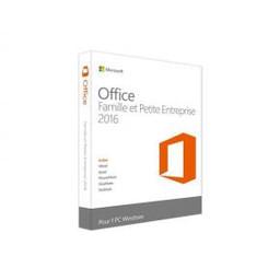 Microsoft Microsoft T5D-02840 Office Thuis en zakelijk 2016 Frans [1 gebruiker: Outlook, Powerpoint, OneNote +]