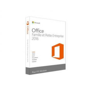 Microsoft Microsoft T5D-02840 Office Home and Business 2016 French [1 user: Outlook, Powerpoint, OneNote+]