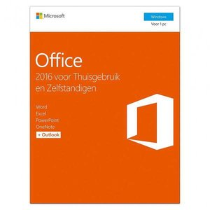 Microsoft Microsoft T5D-02785 Office Home and Business 2016 NL [32b/64b: Word, Excel, PowerPoint, Outlook, O]