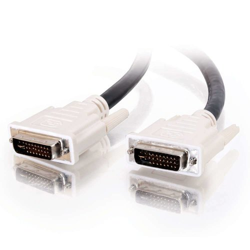 Cables To Go C2G 5m DVI-I M/M Dual Link Cable DVI kabel Zwart