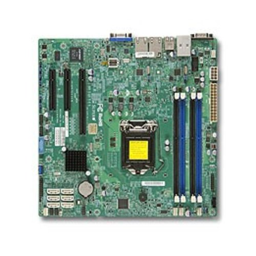 Supermicro Supermicro X10SLH-F LGA 1150 (Socket H3) Intel® C226 Micro ATX
