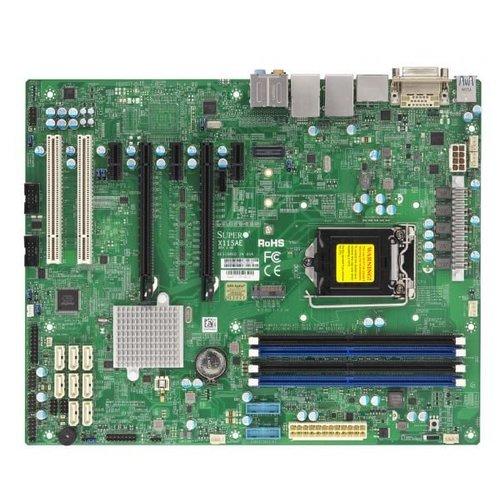 Supermicro Supermicro X11SAE server-/werkstationmoederbord LGA 1151 (Socket H4) Intel® C236 ATX