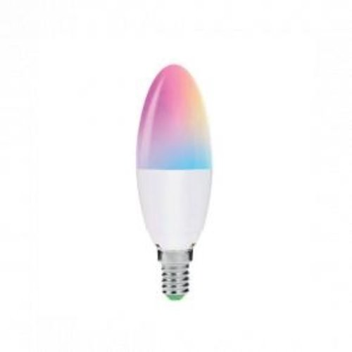WOOX WOOX R5076 Smart E14 LED lamp RGB & warm wit, powered by TUYA [E14, 4,5W, 350 Lumen, 2700K, RGB]