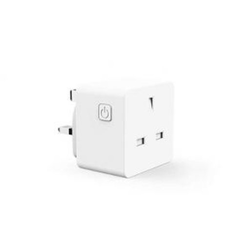 WOOX R4785 Smart plug 13A, UK werkt met Alexa en Google Home Assistent, Powered by Tuya Smart Life
