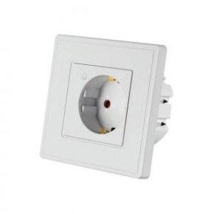 WOOX R4054 Smart opbouw stopcontact powered by TUYA [16A, 3680W, Wi-Fi, White]