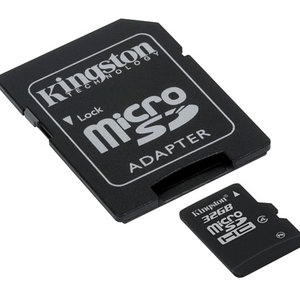 Kingston Kingston Technology SDC4/32GB flashgeheugen MicroSDHC Flash