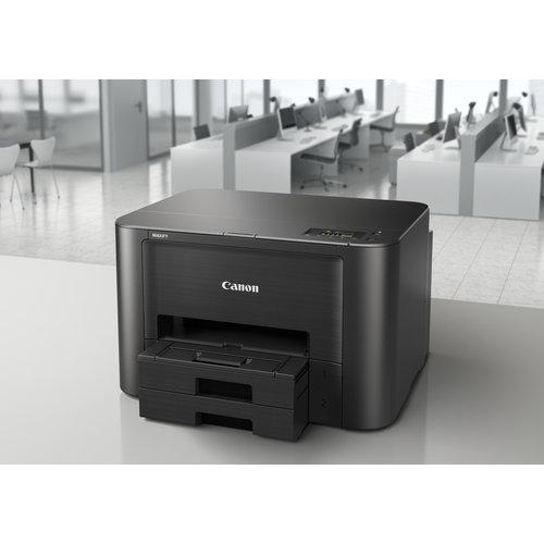 Canon Inkjet, 600 x 1200 dpi, 24/15.5 ppm, USB 2.0, LAN, WLAN