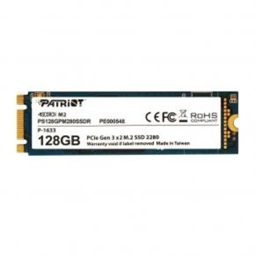patriot Patriot PS512GPM280SSDR SCORCH SSD, [512GB, M.2 2280, PCIe3 x2, ECC, 1700/ 950MB/s, 200K/ 115K IOPS]