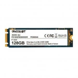 patriot Patriot PS128GPM280SSDR SCORCH SSD [128GB, M.2 2280 PCIe, SMART ECC, 1700/ 415MB/s, 200K/ 28K IOPS]