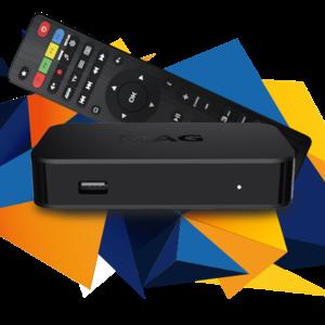 MAG 322 W1 IPTV SET-TOP-BOX