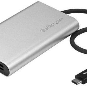 Startech StarTech.com Thunderbolt 3 naar Dual DisplayPort adapter 4K 60Hz Mac en Windows compatibel