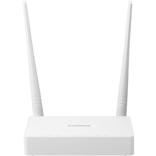 Edimax N300 draadloze router Single-band (2.4 GHz) Fast Ethernet Wit