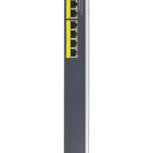 Netgear Netgear GS408EPP Managed L2 Gigabit Ethernet (10/100/1000) Zwart, Grijs Power over Ethernet (PoE)