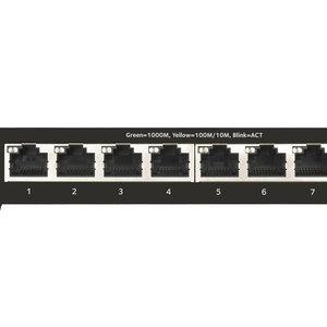 Netgear Netgear GS308T Managed L2 Gigabit Ethernet (10/100/1000) Zwart