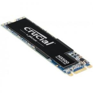 Crucial Crucial CT500MX500SSD4 MX500 SSD [500GB, M.2 2280, SATA3 6Gbps, 560/ 510MB/s]