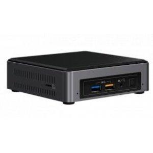 Intel Intel BOXNUC7i5BNK NUC Slim Barebone [7.1CH, Core I5-7260U, 2x DDR4 SO-DIMM, WiFi, BT4.2, CR, 15W]