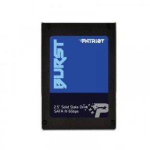 patriot Patriot PBU960GS25SSDR BURST SSD [960GB, 2.5 inch, SATA3, 32MB CACHE, 560/ 540MB/s, Black]