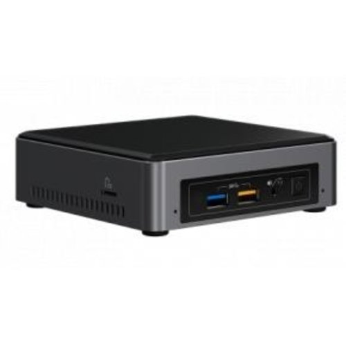 Intel Intel BOXNUC7i3BNK NUC Slim Barebone [7.CH, Core i3-7100U, 2x SO-DIMM DDR4, HD620, BT4.2, WiFi, CR]