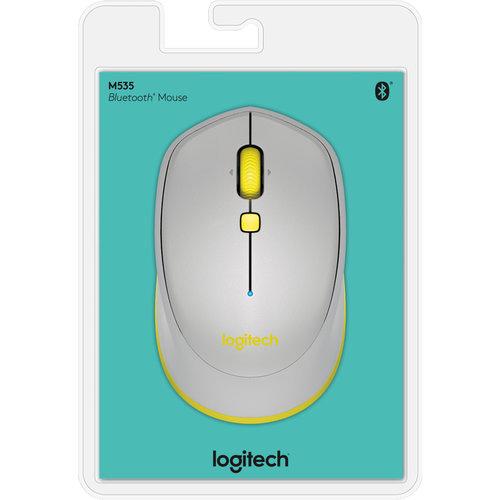 Logitech Logitech M535 muis Bluetooth Optisch 1000 DPI Ambidextrous