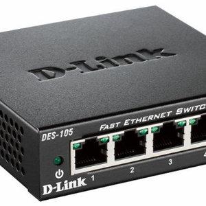 D-Link D-Link DES-105 Zwart