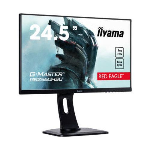 "iiyama iiyama G-MASTER GB2560HSU-B1 LED display 62,2 cm (24.5"") Full HD LCD Flat Mat Zwart"