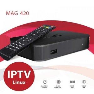 MAG 420 4K UHD SET-TOP BOX W1