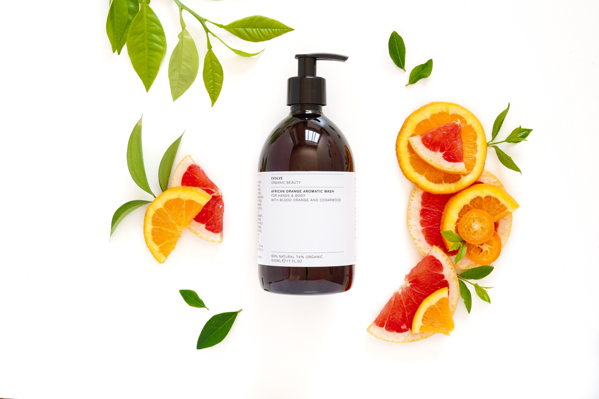 Evolve Beauty  African  Blend Orange Aromatic Wash