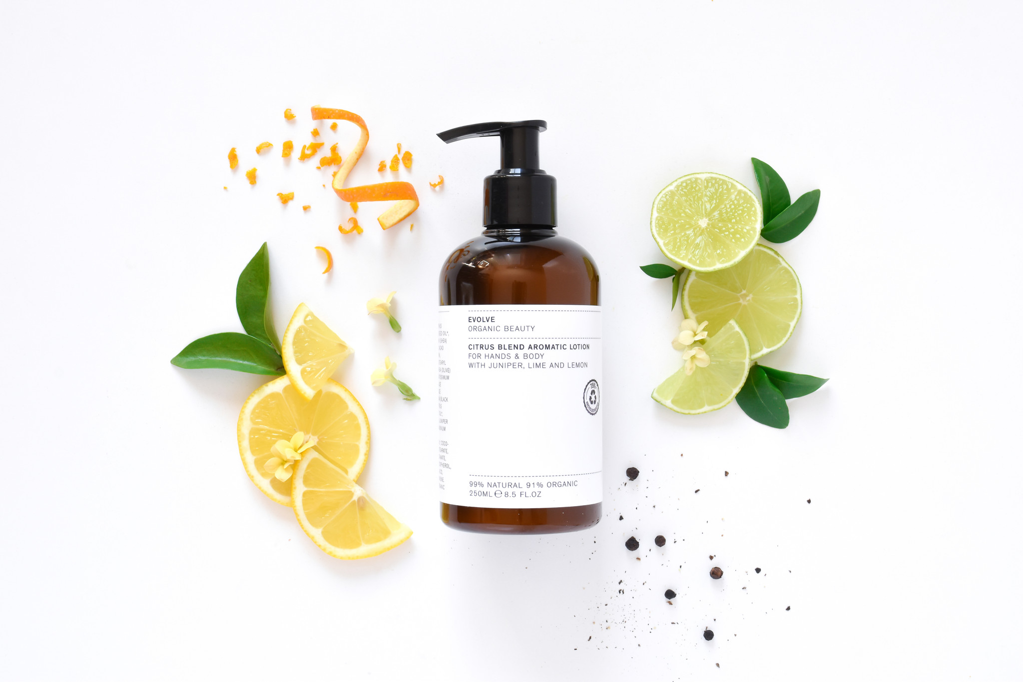 Evolve Beauty  Citrus Blend Aromatic Body Lotion