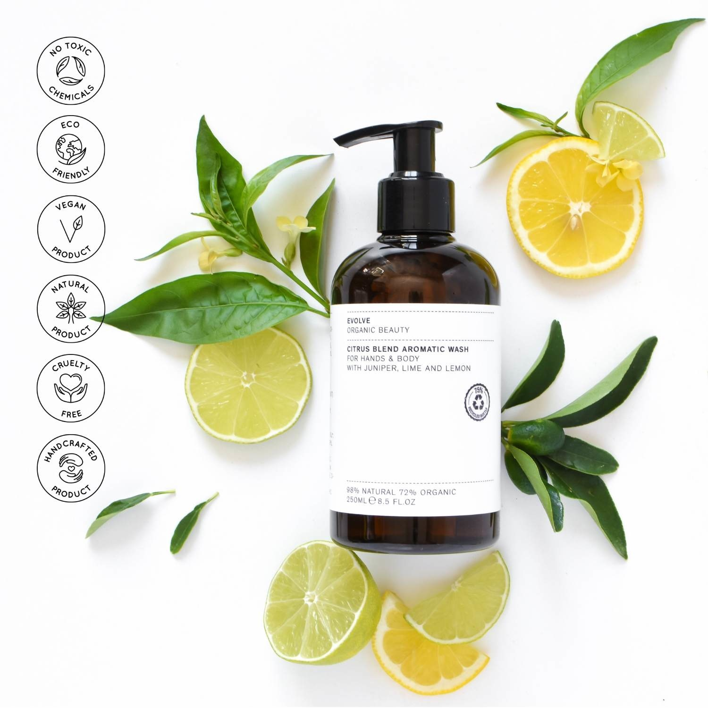 Evolve Beauty  Citrus Blend Aromatic Body  Wash