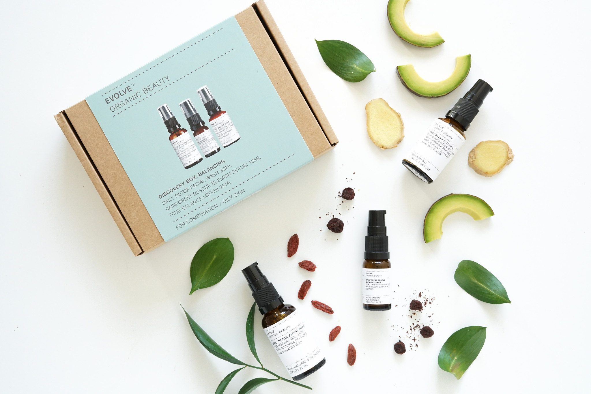 Evolve Beauty  Discovery Box Balancing