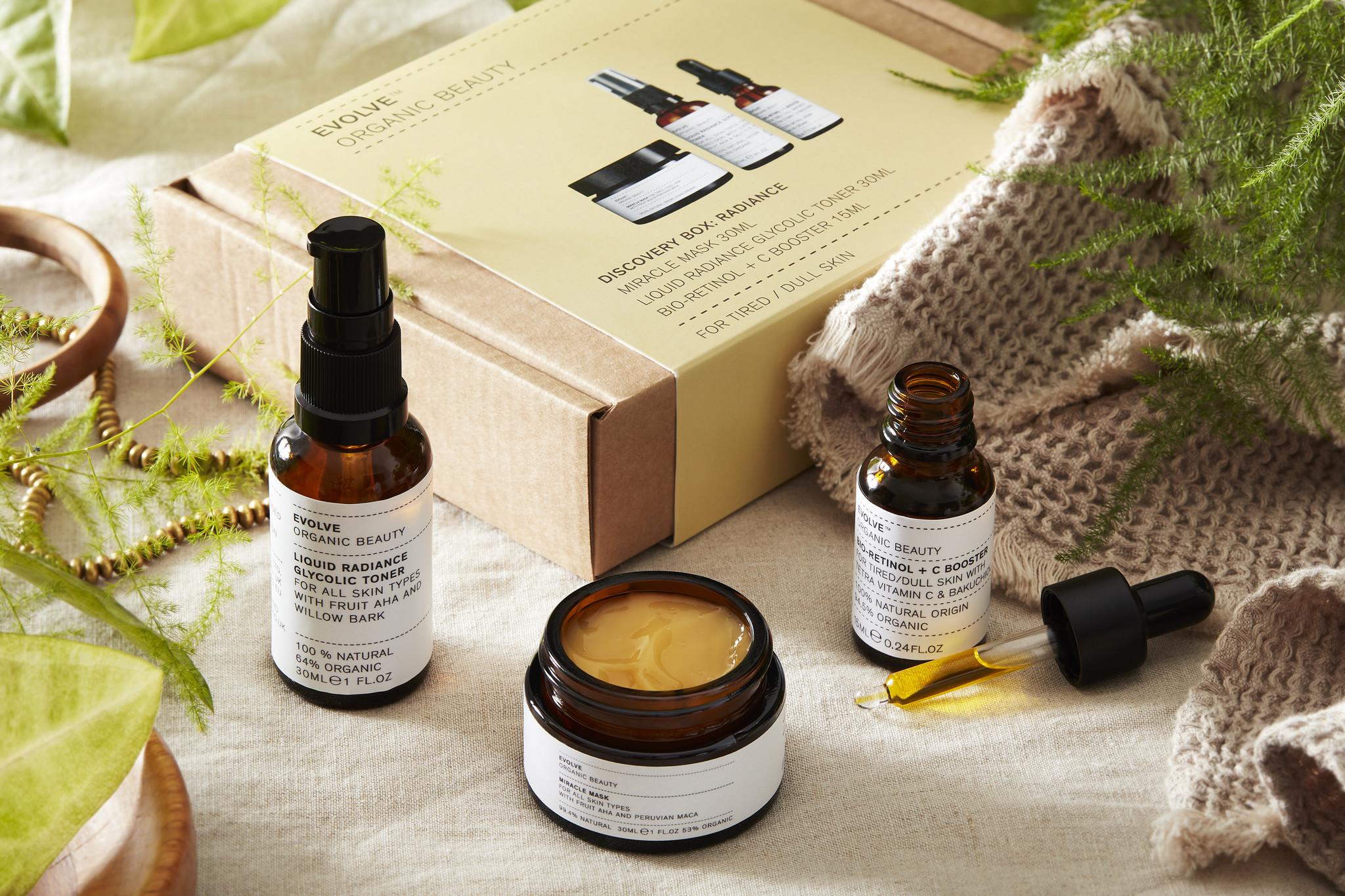 Evolve Beauty  DISCOVERY BOX :RADIANCE Nieuw