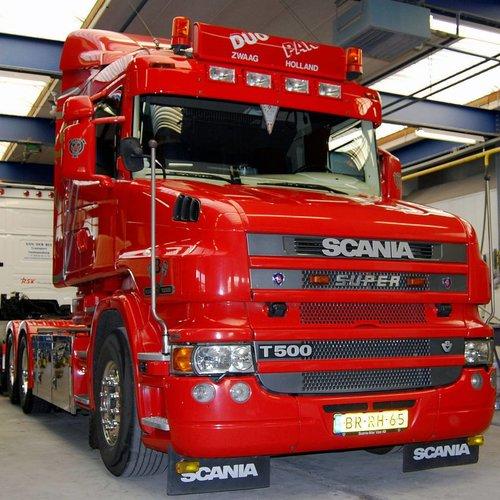 Scania Zonneklep type 1-C voor Scania 4-serie Highline