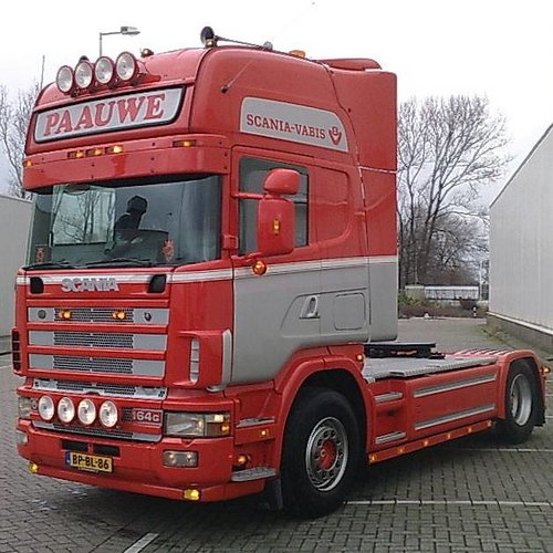 Scania Zonneklep type 1-A voor Scania 4-serie