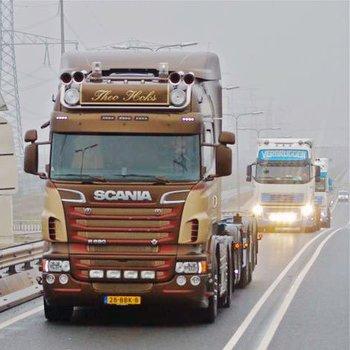 Scania R-serie Highline Zonneklep type 2D