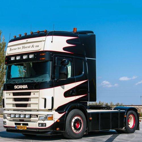 Zonneklep type 3-C voor Scania 4-serie