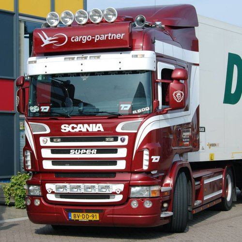Scania Scania R-serie Highline Zonneklep type 1A