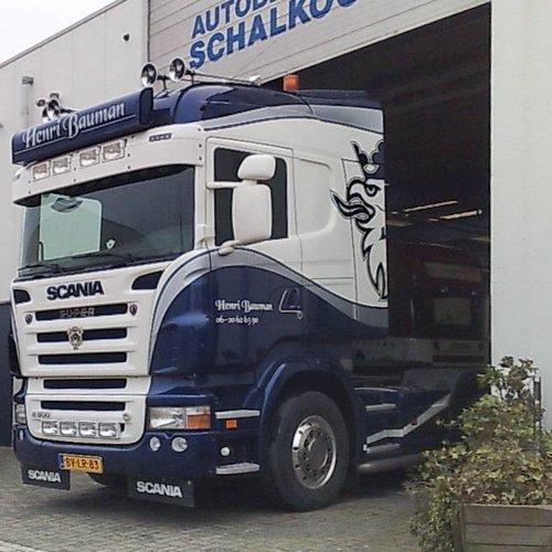 Scania Zonneklep type 1-C voor Scania R-serie met Highline cabine
