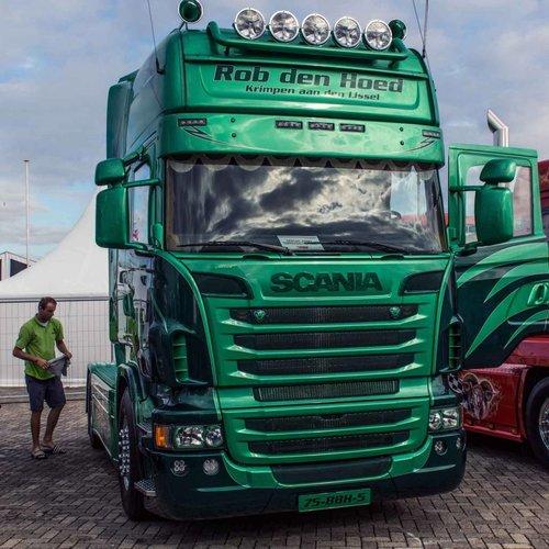 Scania Scania R-serie Zonneklep type 2D