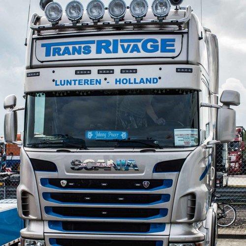 Zonneklep type 2-D voor Scania R-serie