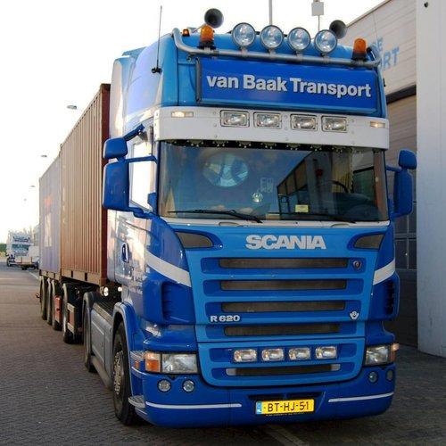Zonneklep type 1-C voor Scania R-serie