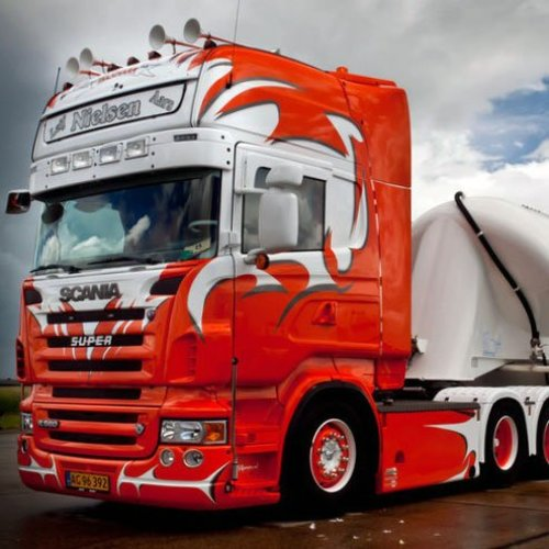 Scania Scania R-serie Zonneklep type 1C